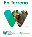 NEWSLETTER WCS COLOMBIA - MAY